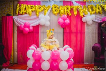 image of first-birthday-party-at-ashirwad-banquets-faridabad-32